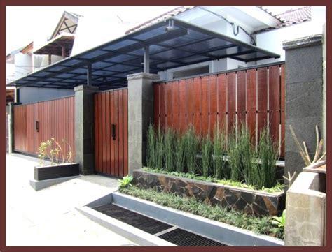 desain ekterior depan rumah eksterior rumah sederhana minimalis