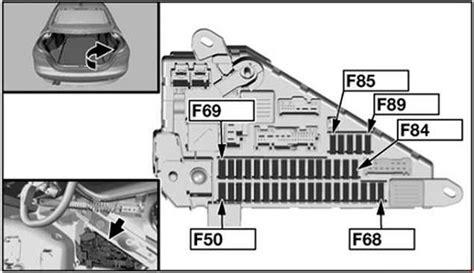 bmw  series     fuse box diagram auto genius