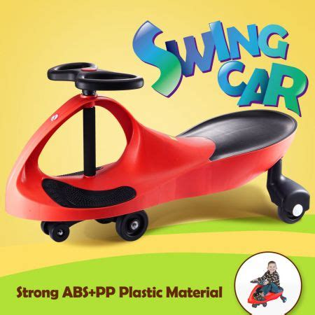 swing ride on car swing car slider kids fun ride on toy with foot mat