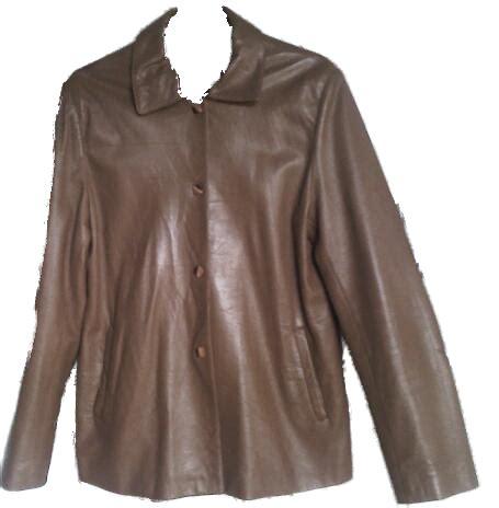 desain jaket warna coklat jaket kulit second chtmm1 2