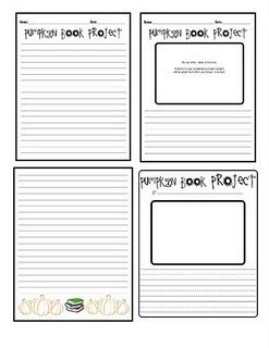 pumpkin book report template 15 best 2nd grade book report ideas images on