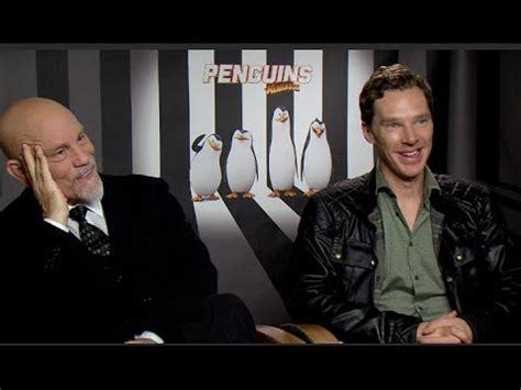 john malkovich youtube interview benedict cumberbatch john malkovich interview penguins