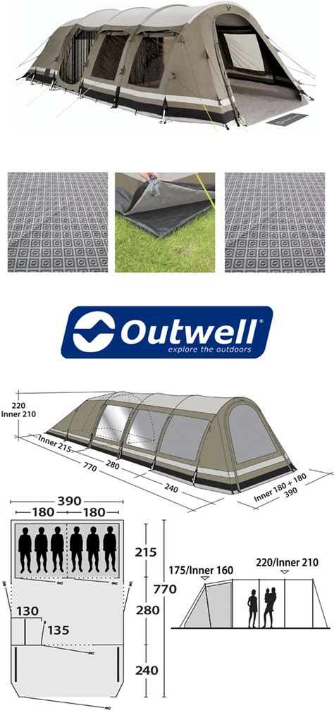 Outwell Yellowstone Falls Living Room Carpet Outwell Yellowstone Falls Tent Package Deal 2013 Ambiente