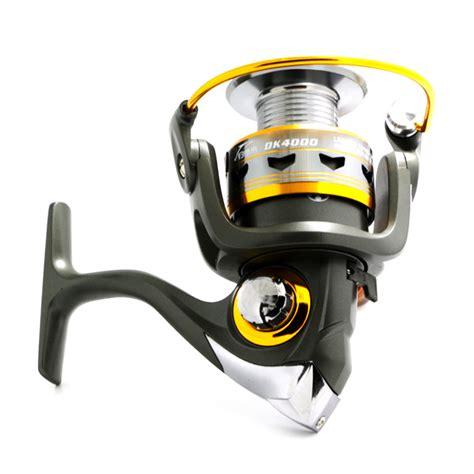 Handle Reel 30 Model Lipat Knob Metal Promo 2017 metal fishing reel 11bb 2000 6000 series spinning reel for feeder fishing wood handle