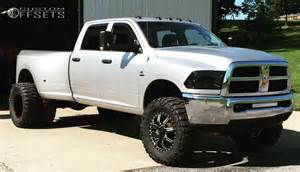 Dodge Ram 3500 Dually Wheel Offset 2010 Dodge Ram 3500 Hella Stance 5 Suspension