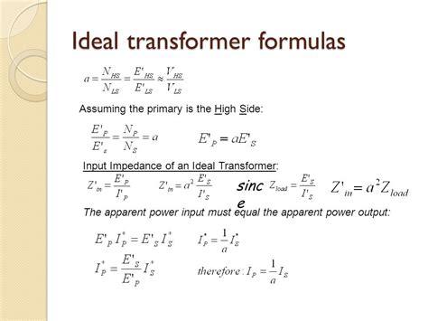 transformer impedance formulas transformer impedance formulas 28 images impedance ratio transformer loading and on load