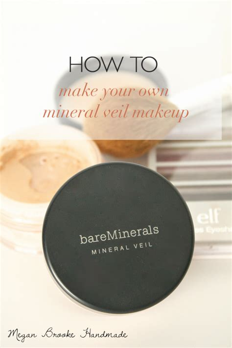 Handmade Mineral Makeup - how to make your own mineral veil makeup megan