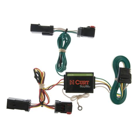 Curt Custom Vehicle To Trailer Wiring Harness 55382 For