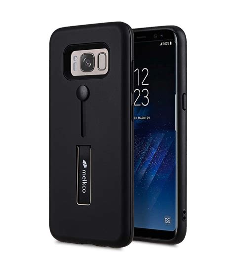 Seedoo Galaxy S8 Honor Series Black slider dual rugged with stand function for samsung galaxy s8 black melkco phone