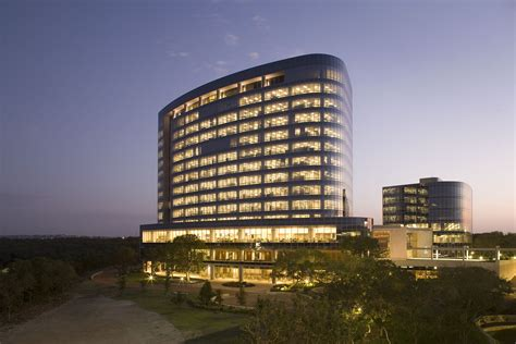 1800 Square Feet by File Tesoro Corporation Headquarters San Antonio Night