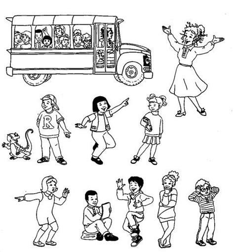 Coloring Pages Magic Schoolbus Picture 1 Magic School Coloring Pages