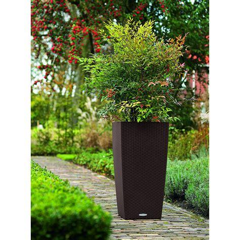 broyhill wicker planter all weather resin wicker flower