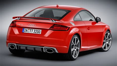 Audi Tt Rs Hp by 2016 Audi Tt Rs Coupe Roadster Debut With 400 Hp Image 482894