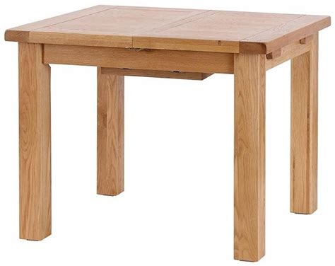 buy vancouver select oak dining table extending