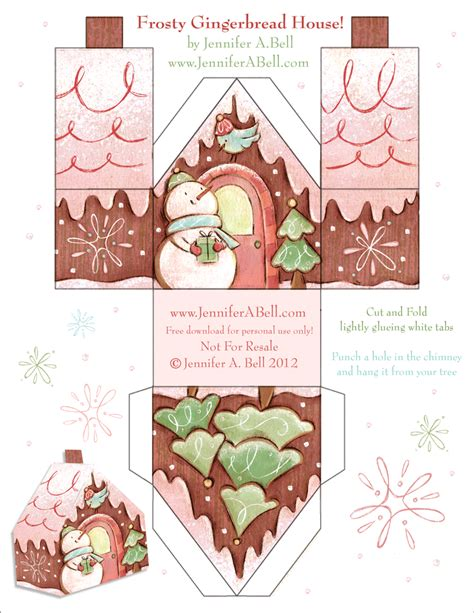 printable gingerbread house designs we love to illustrate free gingerbread house download