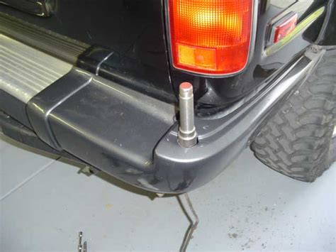 swing out spare tire carrier spare tire swing out carrier attached to cross member