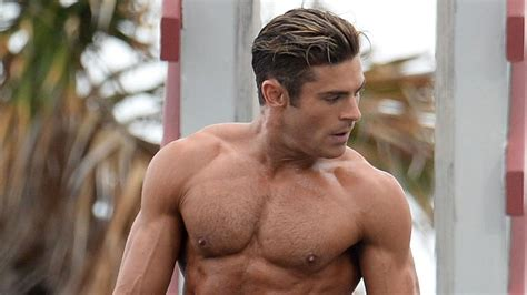 zac efron s baywatch character gets a wax statue will