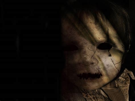 black doll horror wallpapers scary horror wallpapers