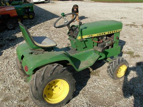 Garden Tractors by Used Deere Tractors For Sale J D Lawn Tractor