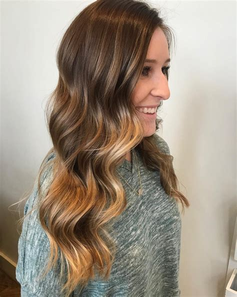 hairstyling products that temperaily give brunette hair warm brown tones 32 sweetest brown hair with caramel highlights in 2018