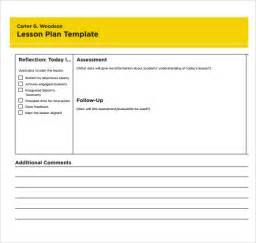 sample printable lesson plan template 8 free documents