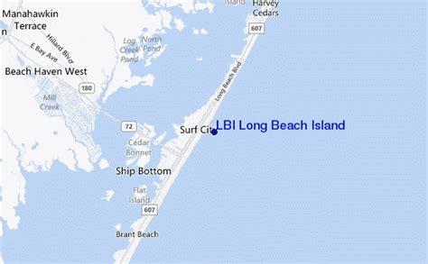 lbi map lbi island previsiones de olas e bolet 237 n de