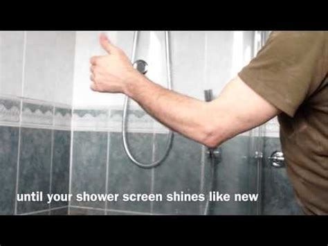 how to get limescale shower doors how to easily remove lime scale from your bathroom
