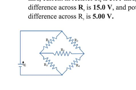 practice d current in and potential difference across a resistor in a circuit shown below the emf source hasneglig chegg