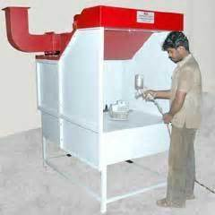 bench spray booth two wheeler paint booth in coimbatore tamil nadu sri