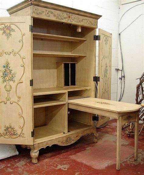 Image Gallery Sewing Armoire
