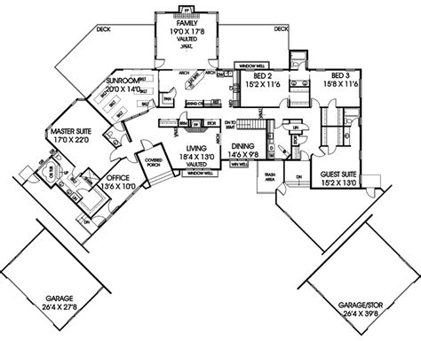 luxury ranch floor plans vatterott luxury ranch home plan 085d 0859 house plans