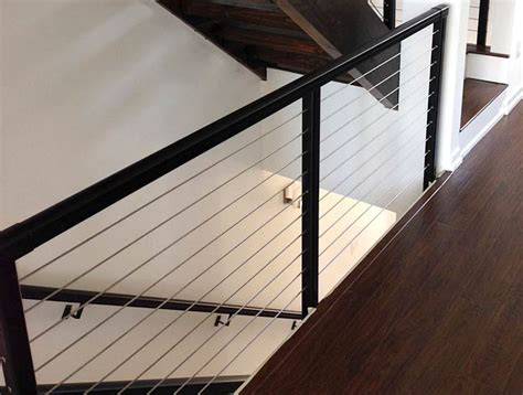 Interior Railing Systems by Cable Railing Systems Modern Style With Minimum View Obstruction Durable Low Maintenance And