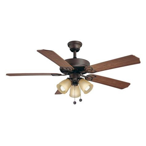 brookhurst 52 quot ceiling fan rubbed bronze or brushed