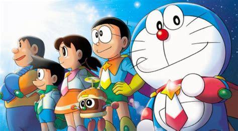 kopi hangat gambar kartun doraemon nobita  teman temannya
