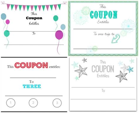 Make Your Own Vouchers Template create your own voucher template update234