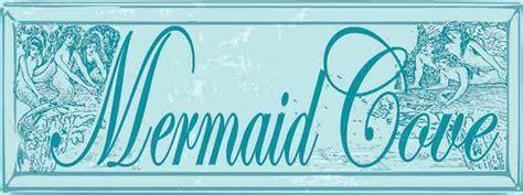 quot mermaid quot custom wooden sign coastal home decor beach mermaid cove original metal sign company