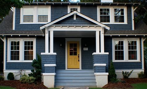 home blue blue home exterior makeover curb appeal ideas
