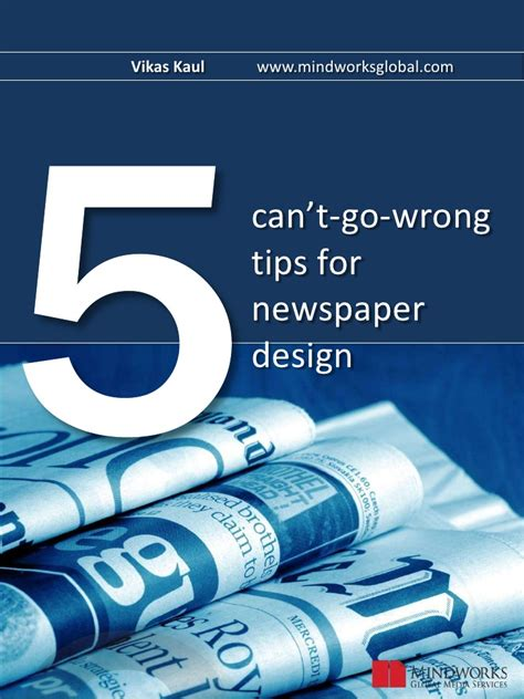 layout and design journalism 5 can t go wrong tips for newspaper design