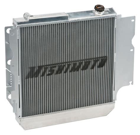 jeep aluminum radiator mishimoto mmradwra87 aluminum radiator for 87 06 jeep