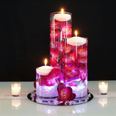 submersible flower centerpieces diy glowing submersible centerpiece afloral wedding
