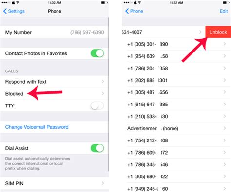 pattern for phone numbers how to block a number on an iphone