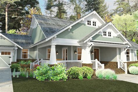 Craftsman Farmhouse Plans by Plan 16887wg 3 Bedroom House Plan With Swing Porch