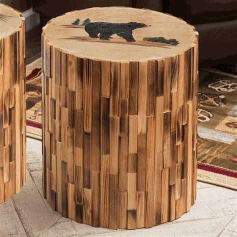 black bear table ls black bear round wood table