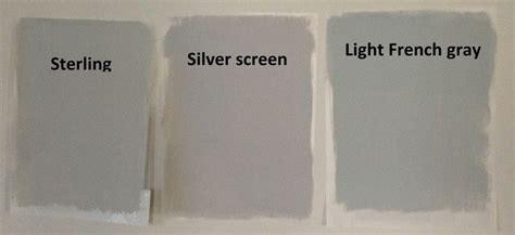 behr light gray paints sterling silver screen  light