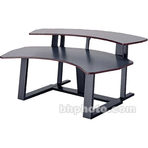 Wrap Desk by Winsted Digital Wrap Around Desk With Riser E4606 B H Photo