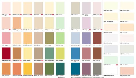 Asian Paints Ace Exterior Emulsion Shade Card - ici paint colours