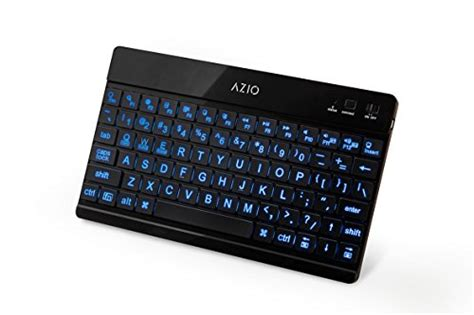 large key keyboards for android azio large print backlit bluetooth keyboard for android tablets kb335 buy in uae