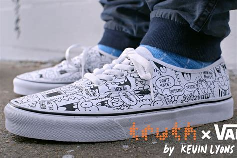Jual Vans Limited Edition this limited edition vans sneaker carries an anti message print creativity
