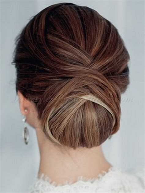 Wedding Hairstyles Chignon by Low Chignon Hairstyle 2013