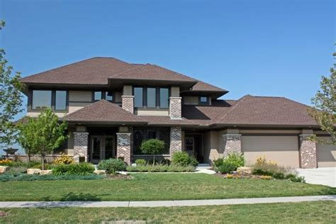modern prairie style now and then prairie style architecture